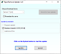 Updater window - click to enlarge